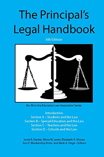 Principal's Legal Handbook, 6th ed.
