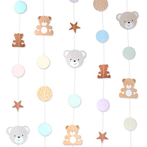 - Hatton Gate Teddy Bear String Decorations 6 Strings Each 2 metres per Pack