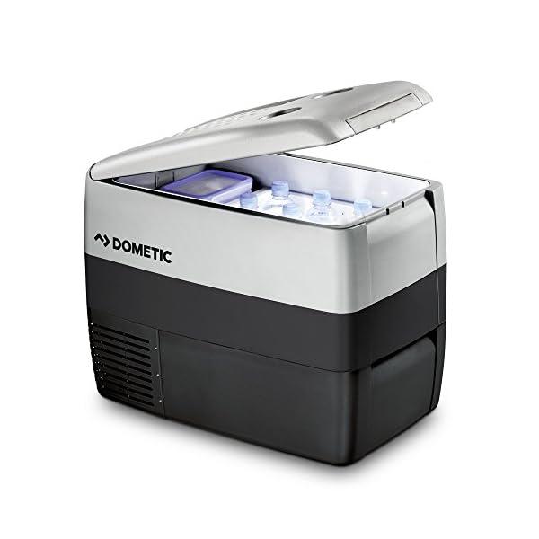 Dometic CoolFreeze CDF 46, tragbare elektrische Kompressor-Kühlbox/Gefrierbox, 39 Liter, 12/24 V für Auto, Lkw oder Boot…