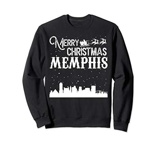Merry Christmas Y'all Memphis City crewneck sweatshirt