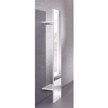 Super Generic SPIEGELGARDEROBE Garderobe Spiegel Flur Weiß Hochglanz Neu EA34