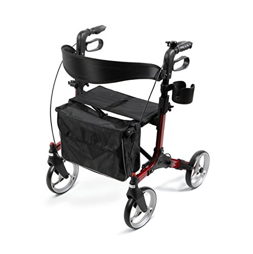 Medline MDS86835EURO Simplicity Rollator Walker
