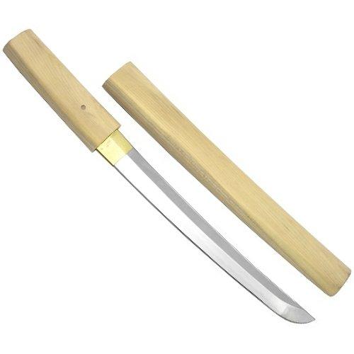 尾形刀剣 日本刀 OG-55 白鞘短刀 9寸 B00JKBRFUI