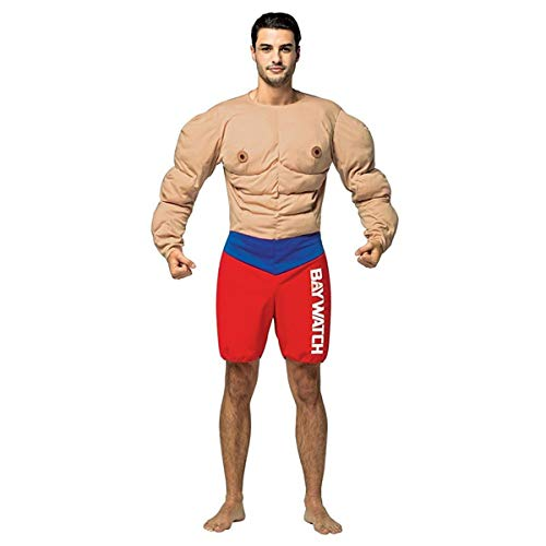 Rasta Imposta Baywatch - Muscles Lifeguard Costume for Adults