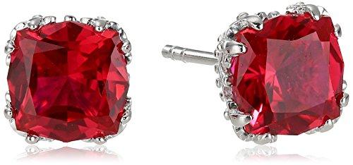 Created Gemstone Jubilee Cut Earrings Sterling product image