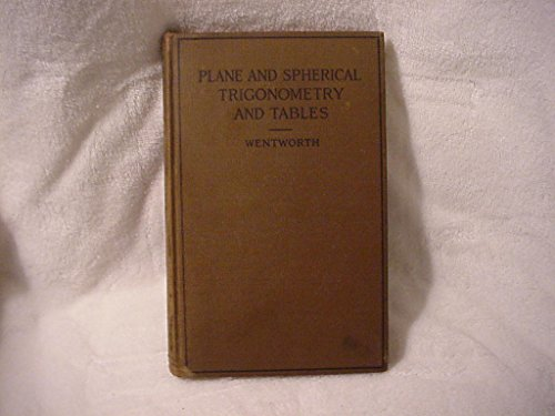 Plane and spherical trigonometry and tables, (Tables Trigonometry)