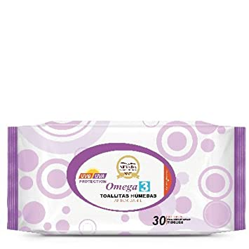 Amazon.com: Omega 3 Anti-Oxidant Refreashing Cleansing Wipes (30 pack): Beauty