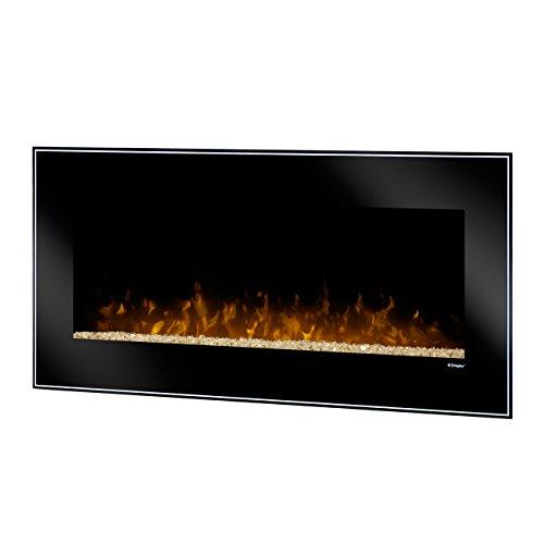 Dimplex DWF1215B Dusk Wall-Mounted Fireplace, Black