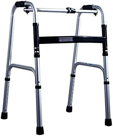 歩行器介護 座れる高齢者 病院折りたたみウォーカーと軽量アルミウォーカーノンスリップウォーキングスティック 移動・歩行支援歩行器