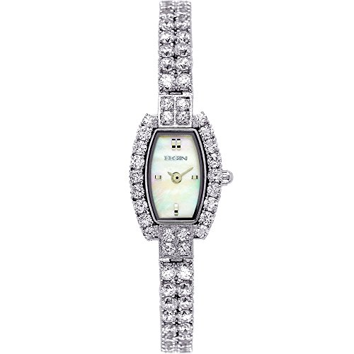 Elgin Women's EG131S CZ Dress Watch