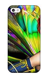 Durable Defender Case For Iphone 5/5s Tpu Cover(colorful Fairy) wangjiang maoyi