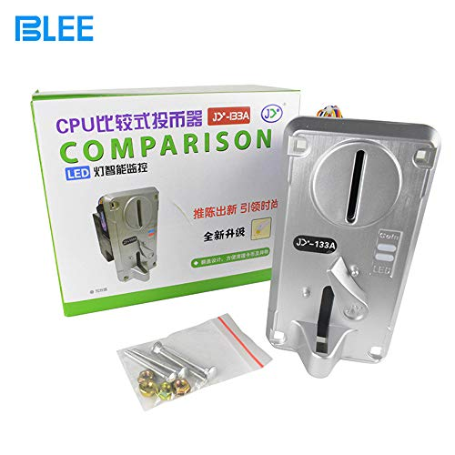 BLEE JY-133A Coin selector /Coin Operated Spare Parts /Arcade Coin Acceptor/ /Token Slot/Toy Crane Machine/Simulator Racing Machine