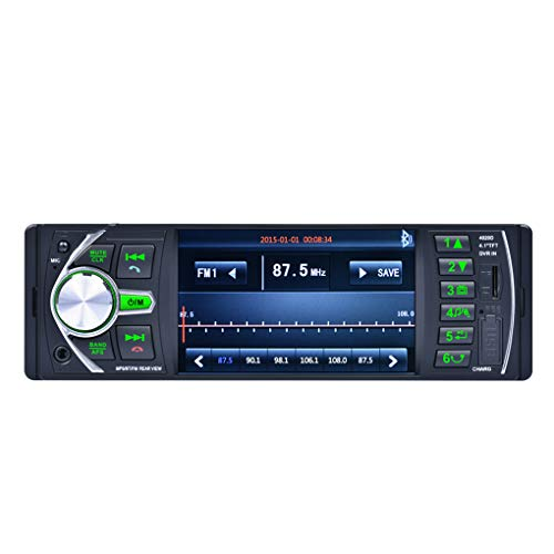 4.1 Inch 12V HD Video Car MP5 Player,1 Din Car Stereo: Amazon.co.uk: Electronics