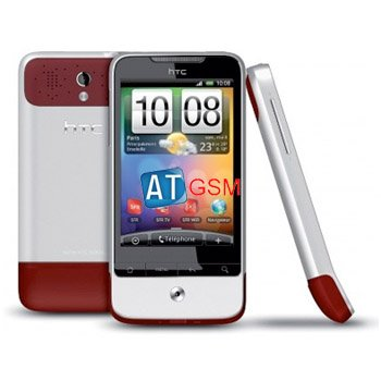 Unlocked HTC Legend A6363 Touch Android OS GPS Wi-Fi 3G Phone Red