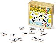 Carlu Brinquedos - Jogo Educativo, 4+ Anos, 150 Peças, Color Multicolorido, 1120