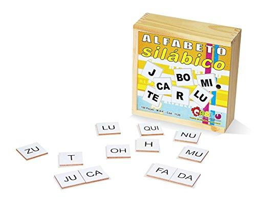 Alfabeto Silábico Carlu Brinquedos