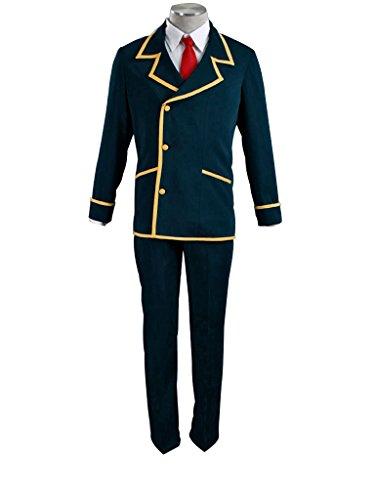 Mtxc Men's Love, Elections & Chocolate Cosplay Costume Ohjima Yuuki School Uniform Size XXX-Large Blue by Mtxc