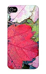 New Tpu Hard Case Premium Iphone 5/5s Skin Case Cover(water Autumn Leaves Fallen Leaves ) For Christmas Gift