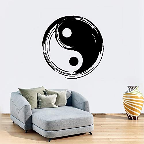 Tai Tower Chi (augter Removable Wall Decals Inspirational Vinyl Wall Art Tai Chi Yin Yang Chinese Symbol Taoism)