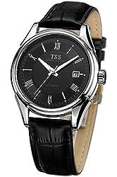 TSS Men's T5006QPC2 Quartz Luminous Watch with Leather Band