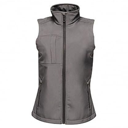 Regatta TRA849 80808L Professional Women's Octagon II 3 Layer Waterproof Softshell Body warmer, Black(Black), 8 5
