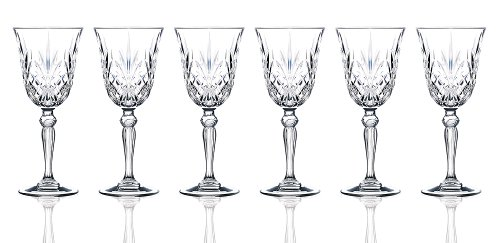 RCR Crystal Melodia Collection Wine Glass - New Collection Italy