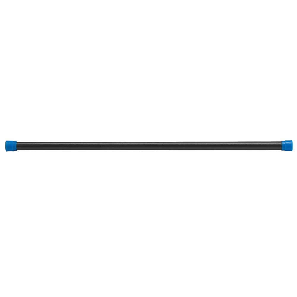 Body-Solid Tools Weighted Bar, 18 Pounds, Blue