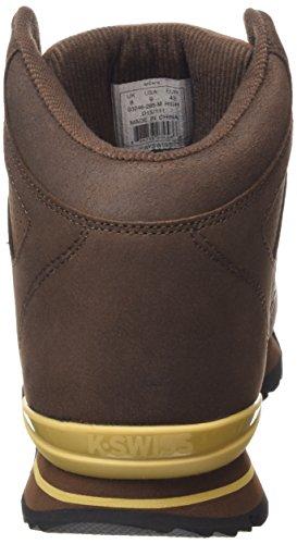 K-Swiss Si-18 Premier Hiker - zapatilla deportiva de piel hombre marrón - Braun (Chestnut/Prairie Sand 285)