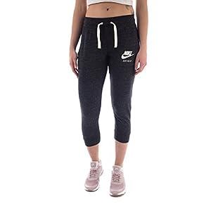 NIKE Womens Gym Vintage Capris Black/Sail 726053-010 Size X-Small