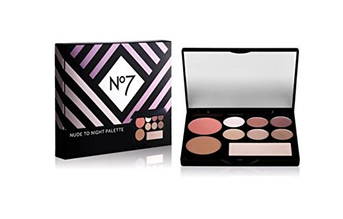 Boots No7 Nude to Night Palette ***LIMITED EDITION***with Eyeshadows-Bronzer-Blusher-Highlighter