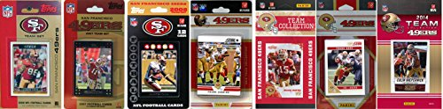 C&I Collectables NFL San Francisco 49Ers Licensed Trading Card Team Set from C&I Collectables
