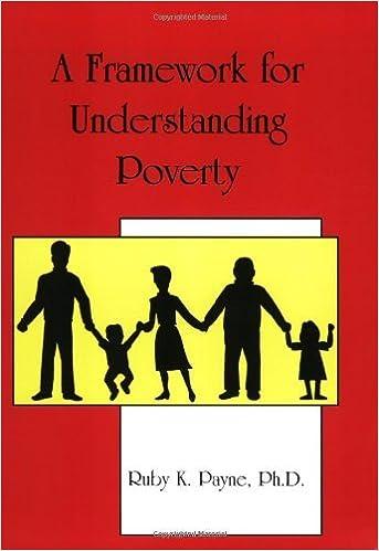 A Framework for Understanding Poverty by Payne Ruby K. (2003-10-15)