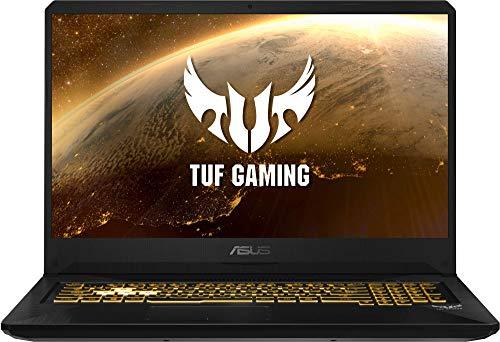 """ASUS TUF Gaming FX705DD-AU017 - Ordenador portátil de 17.3"""" (AMD Ryzen 7 3750H APU, 8 GB RAM, 512 GB SSD, NVIDIA GeForce GTX1050, sin Sistema operativo) Negro - Teclado QWERTY Español 2"""