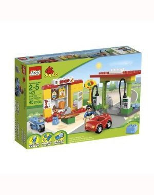 Lego Duplo 6171 My First Gas Station by LEGO