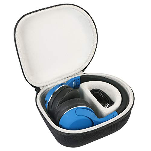 Geekria UltraShell Plus Headphones Case for BeoPlay H2 Sony MDR-XB950BT // Hard Shell Carrying Case//Headset Protective Travel Bag with Space for Cable H9 H7 H8 Charger and Accessories H6