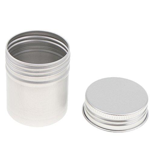 contenitore crema 50ml alluminio tè unità Caps Boot 5 di polvere Blesiya contenitore Vite B cera Tube BFqPwvnH
