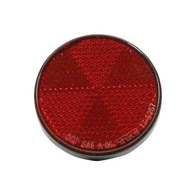 TYC 17-5267-00 Compatible with TOYOTA Driver/Passenger Side Replacement Rear Reflector: Automotive