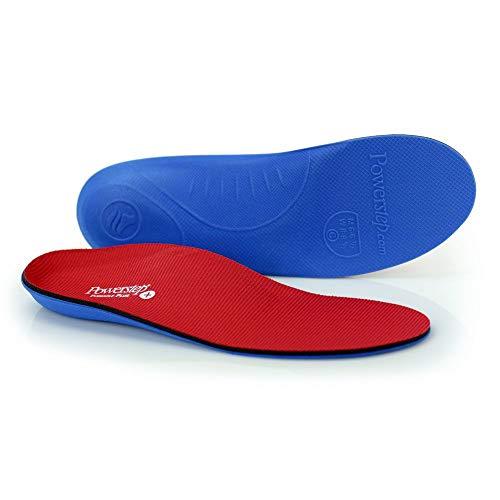 Powerstep Pinnacle Plus Met Insoles Sandal, Red/Blue, Men