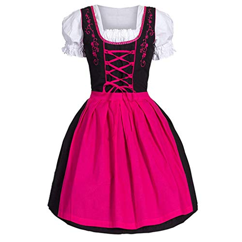 TIFENNY Fashion Anime Featuring A Maid Costume Cute Cosplay Role Playing Dress Short Sleeve Square Neck Party Dress Pink
