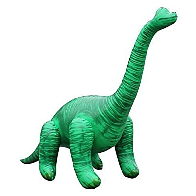 "Jet Creations 48""L x 13""W x 27.5""H Inflatable Brachiosaurus,Inflatable Dinosaurs Toys,Stuffed Animals Toys,Inflatable Animals for Kids,Party Decoration for Indoor and Outdoor Play: Toys & Games"