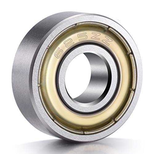 - PAGOW PA00005NB 20-Pack 625ZZ Ball Bearings, Metal Shielded Greased Miniature Deep Groove Ball Bearings (5mm x 16mm x 5mm), 0.75