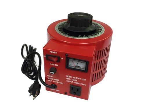 0.5KM, 5A , 500VA Variac, Variable Transformer Input 110V 60hz AC, output 0-130V AC