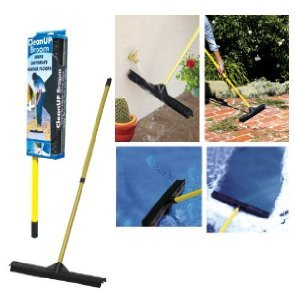 Dutch Rubber Broom with 52'' Handle