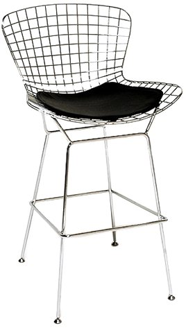 Knoll Bar Stools - Fine Mod Wire Counter Height Stool