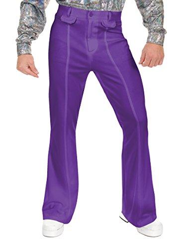 Charades Men's Disco Pants, Purple, 42 -