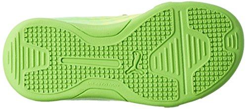 Puma Evospeed 17.5 It V Jr, Botas de Fútbol Unisex Niños Amarillo (Safety Yellow-puma Black-green Gecko 01)