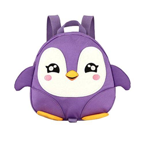 School Season,Koolee Cute Penguin Daypack Kid Backpack Child