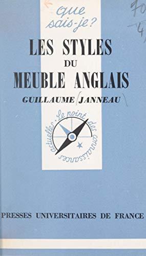 Amazon Com Les Styles Du Meuble Anglais French Edition