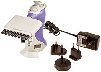 VistaLab 1160-1250 Ovation 8 Channel Electronic Multichannel Pipette, 25 - 1250 microliters Volume, 5 microliters Graduation, Purple