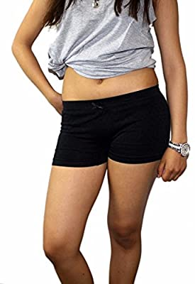 Short Fitted Stretch Tight Yoga Running Bike Exercise Shorts Underwear